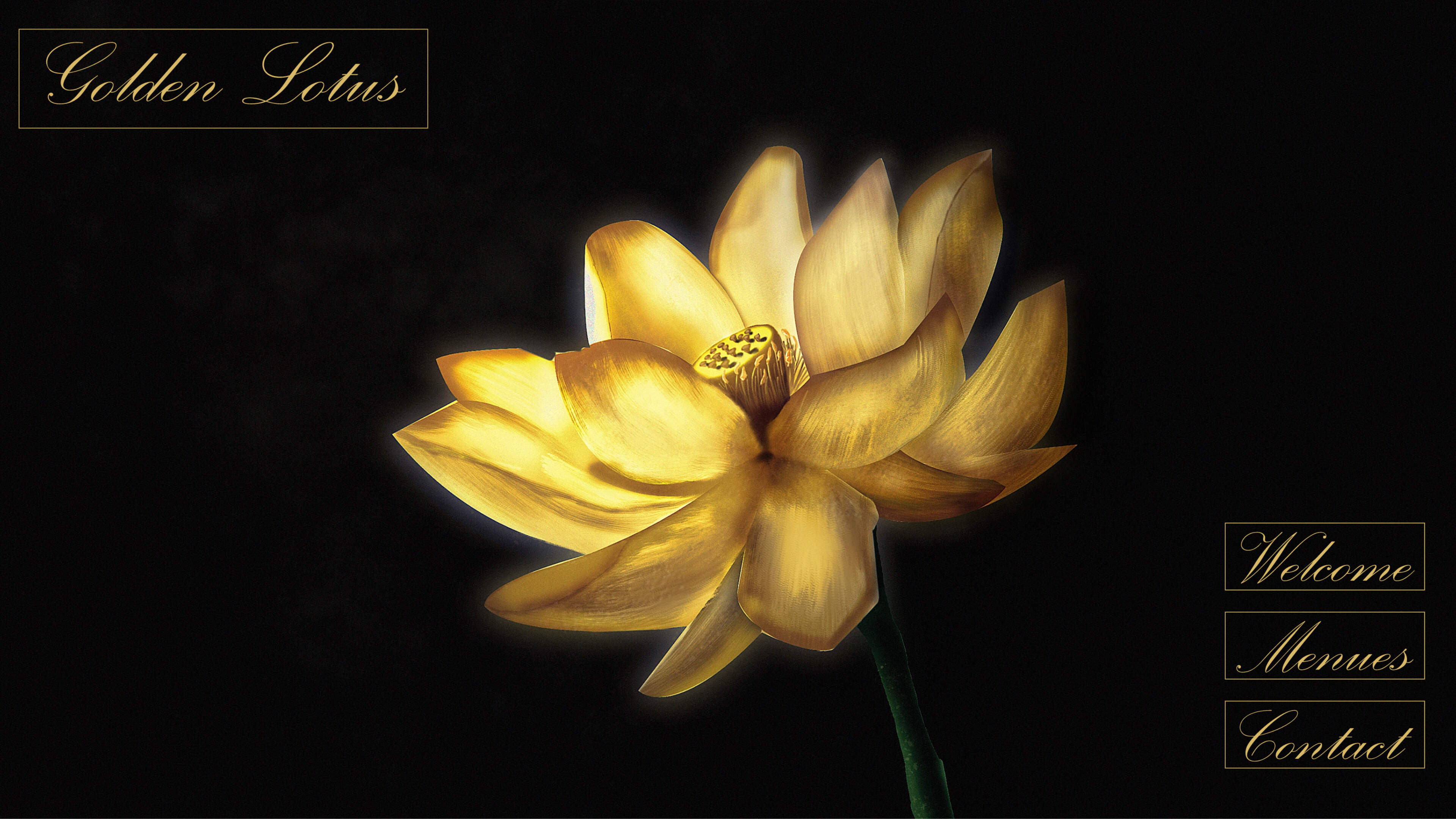 Golden Lotus - Webpage
