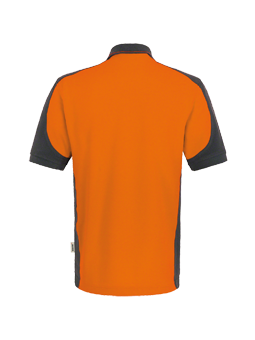 Poloshirt Hakro Contrast Performance 0839 Orange-Anthrazit 27