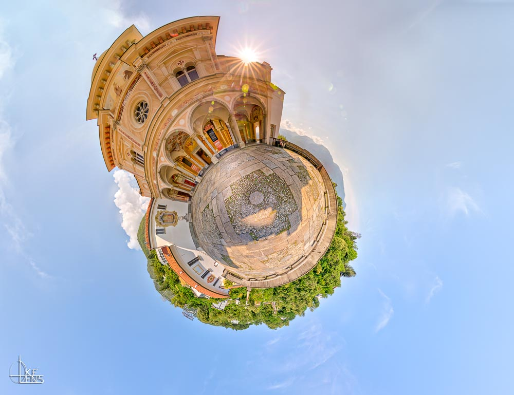 Little Planet - Madonna del Sasso