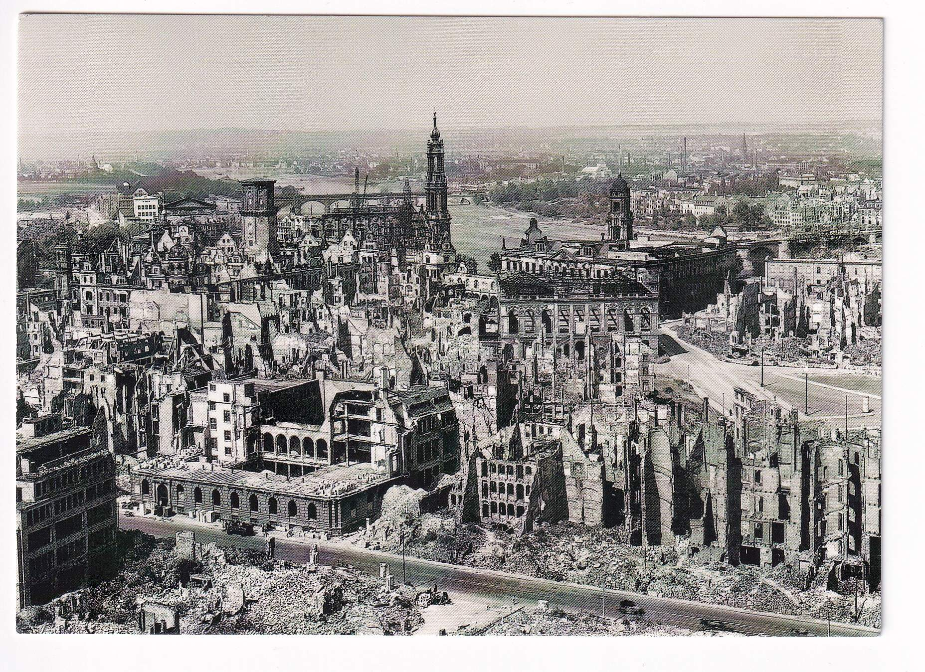 Dresden after WW 2 - Germany