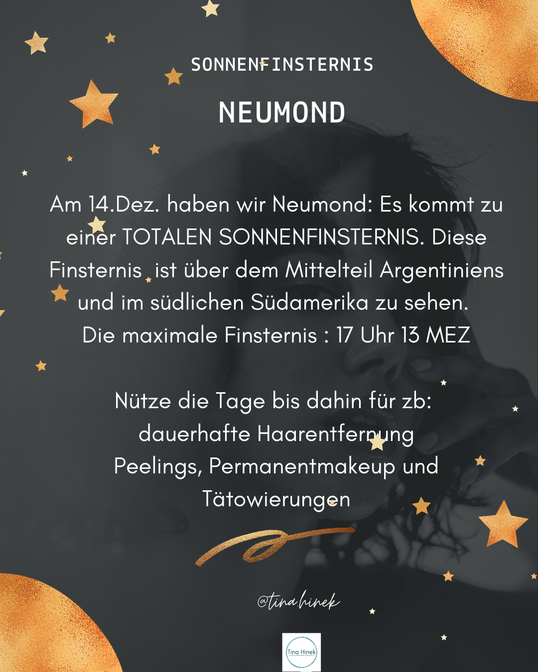 Neumond - Sonnenfinsternis 14.12.2020