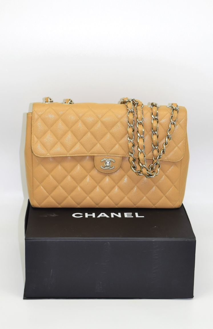Chanel Classic Single Flap Caviar