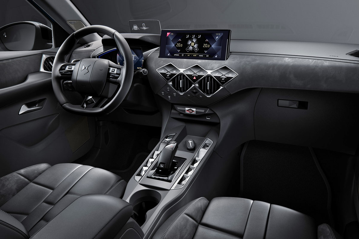 DS Automobiles DS3 Crossback Interieur