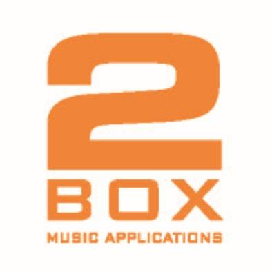 2Box drums Logo Music Applications