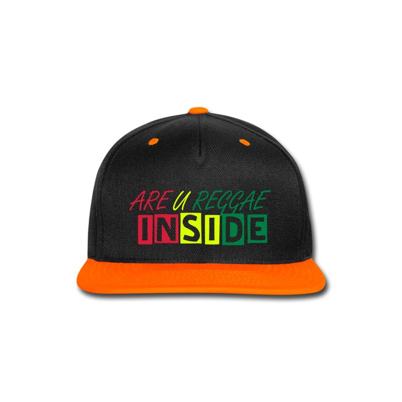 ARE U REGGAE INSIDE  - FAN CAP