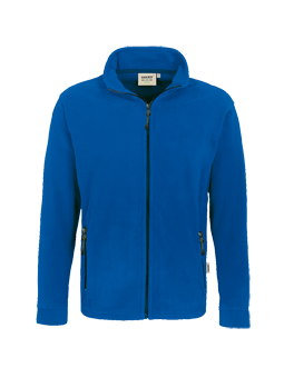 Herren Fleece Jacke Hakro Langley 0840 Royalblau 10