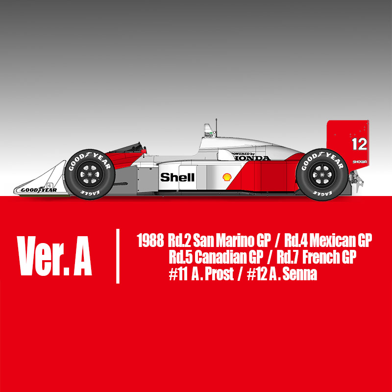 1/20scale Fulldetail Kit : McLaren MP4/4