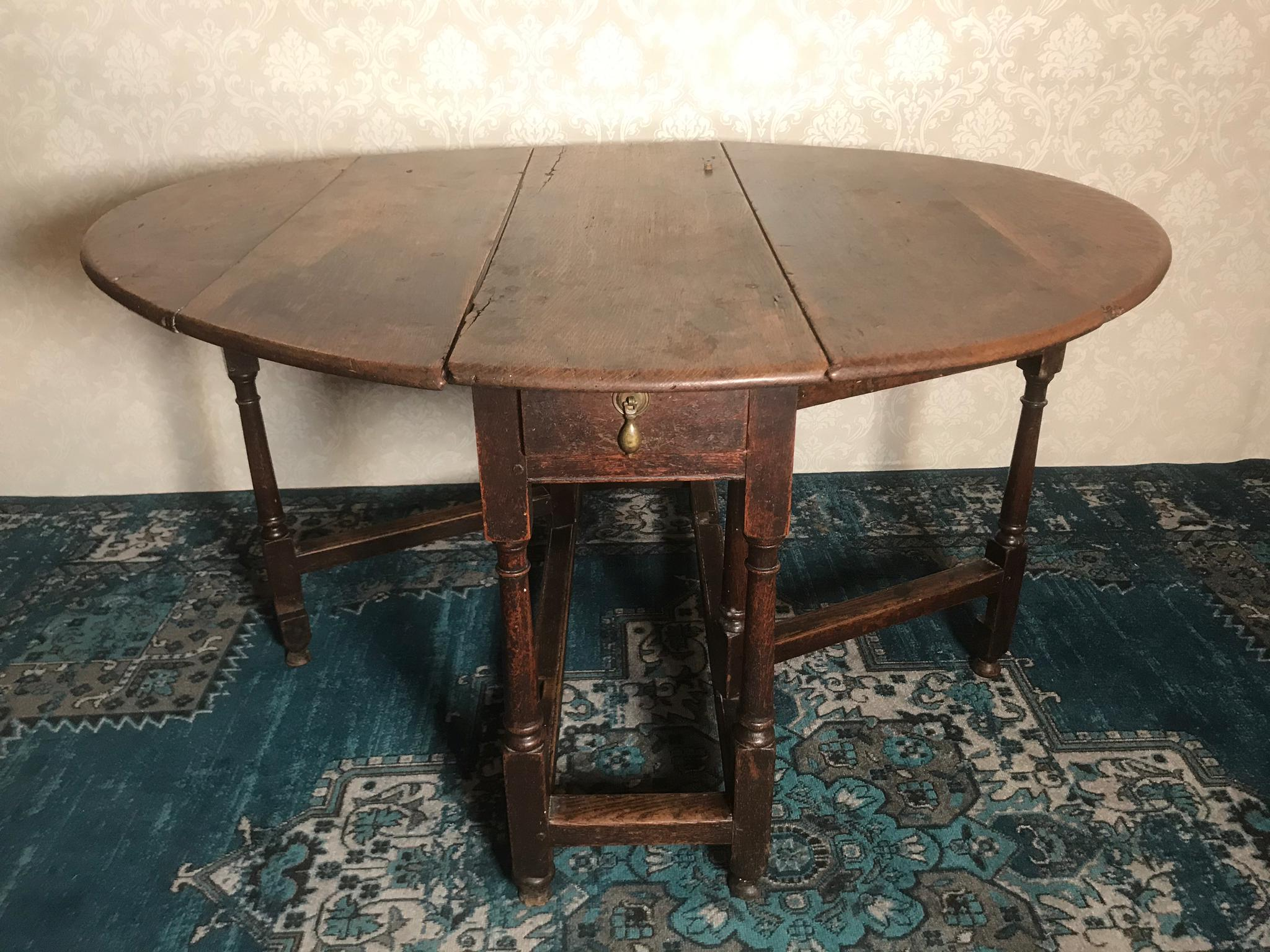 Gate Leg Table England 18. Jhdt.