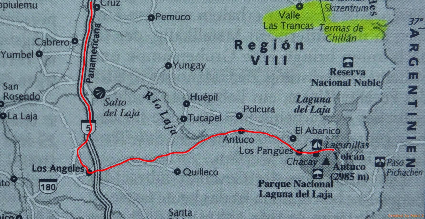 0161 PN Laguna del Laja - Routejpg