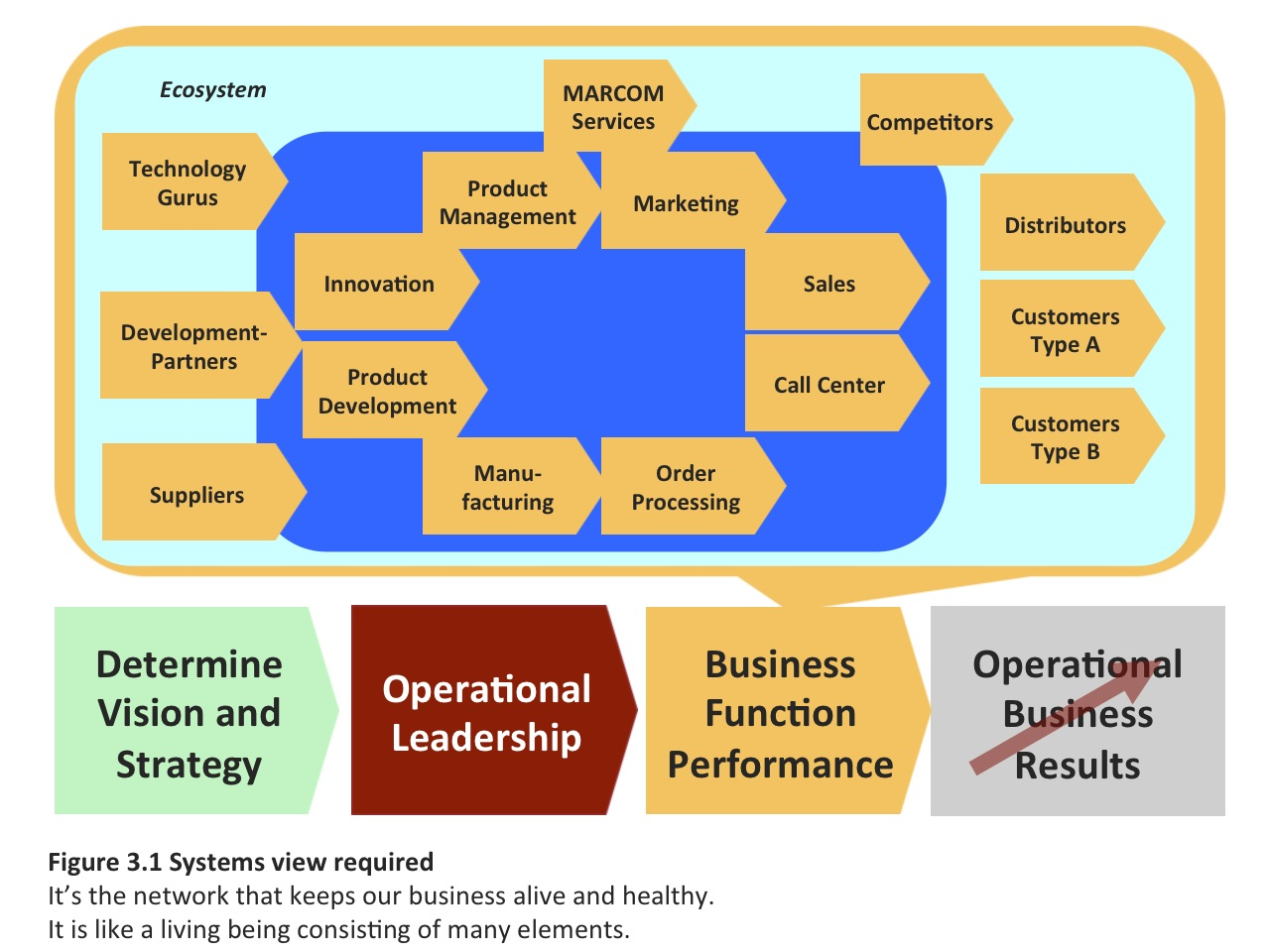 System view of business (company system)