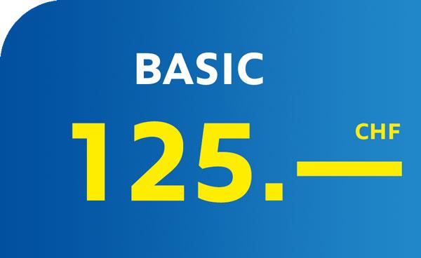 Euromaster Basel Aktionsangebot Basic CHF 125