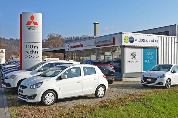 Autohaus Wederich Dona ZWINGEN - Citroen Mitsubishi Peugeot