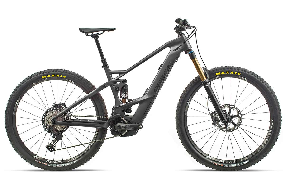 Orbea Wild FS M-Team anthrazit-schwarz Fully E-Mountainbike