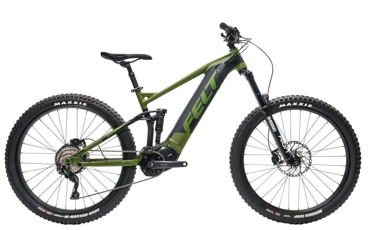 E-MTB Felt Redemption E50 Fully Elektrovelo Mountainbike