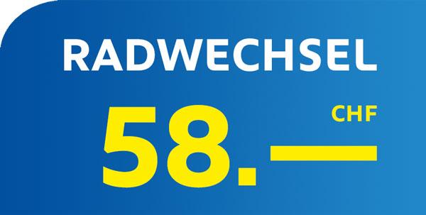 Euromaster Radwechsel Basel CHF 58