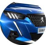 Peugeot 2008 SUV Blau Virtuel