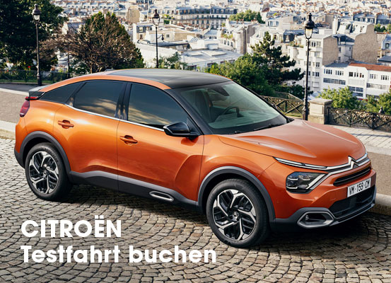 Citroen Test Days 2021 Neuwagenaktion