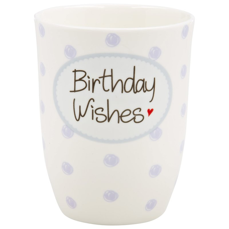 "Tasse ""Birthday Wishes"""