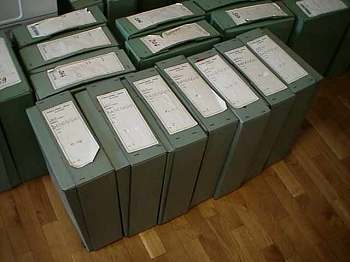 The Koper Baseggio Files - 7 Boxes of Baseggio Documents