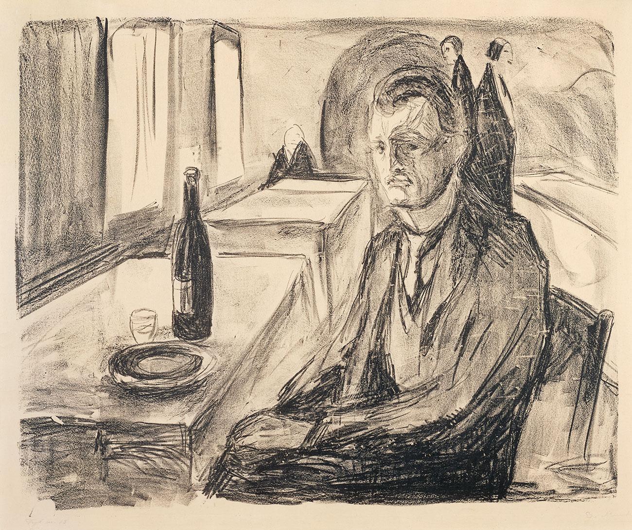 Edvard-Munch-84-Self-Portrait-with-Bottle-of-Winejpg