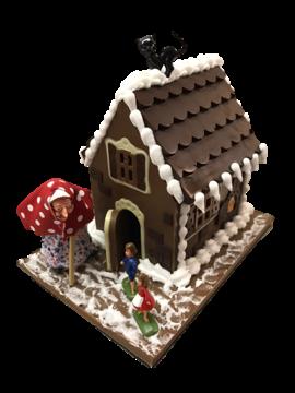 Haus aus Schokoladepng
