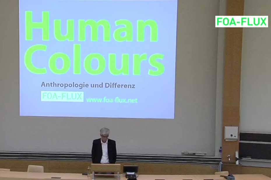 Human colours (staged lecture)