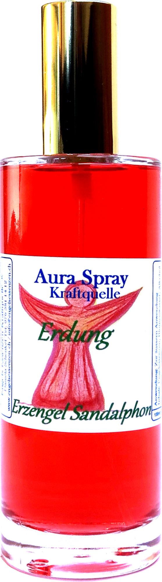 Spray riequilibrare il 1 chakra sicurezza e forza interiore
