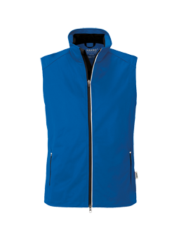 Herren Light-Softshell Weste Hakro Edmonton 0854 Royalblau 10