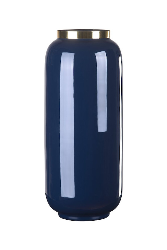Vase midnight blue gross