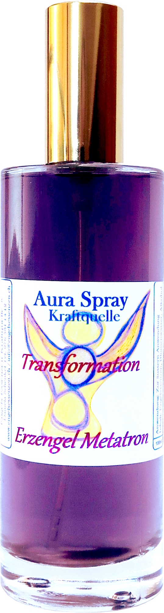 Spray per l`aura Arcangelo Metatron