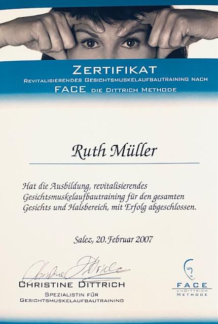 Gesichtsaufbau Zertifikat 1jpg
