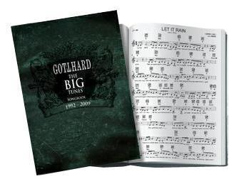 GOTTHARD Songbuch The Big Tunes