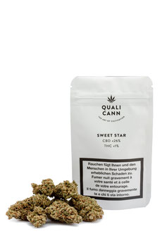 QualiCann - High Grade Handcut CBD Flowers