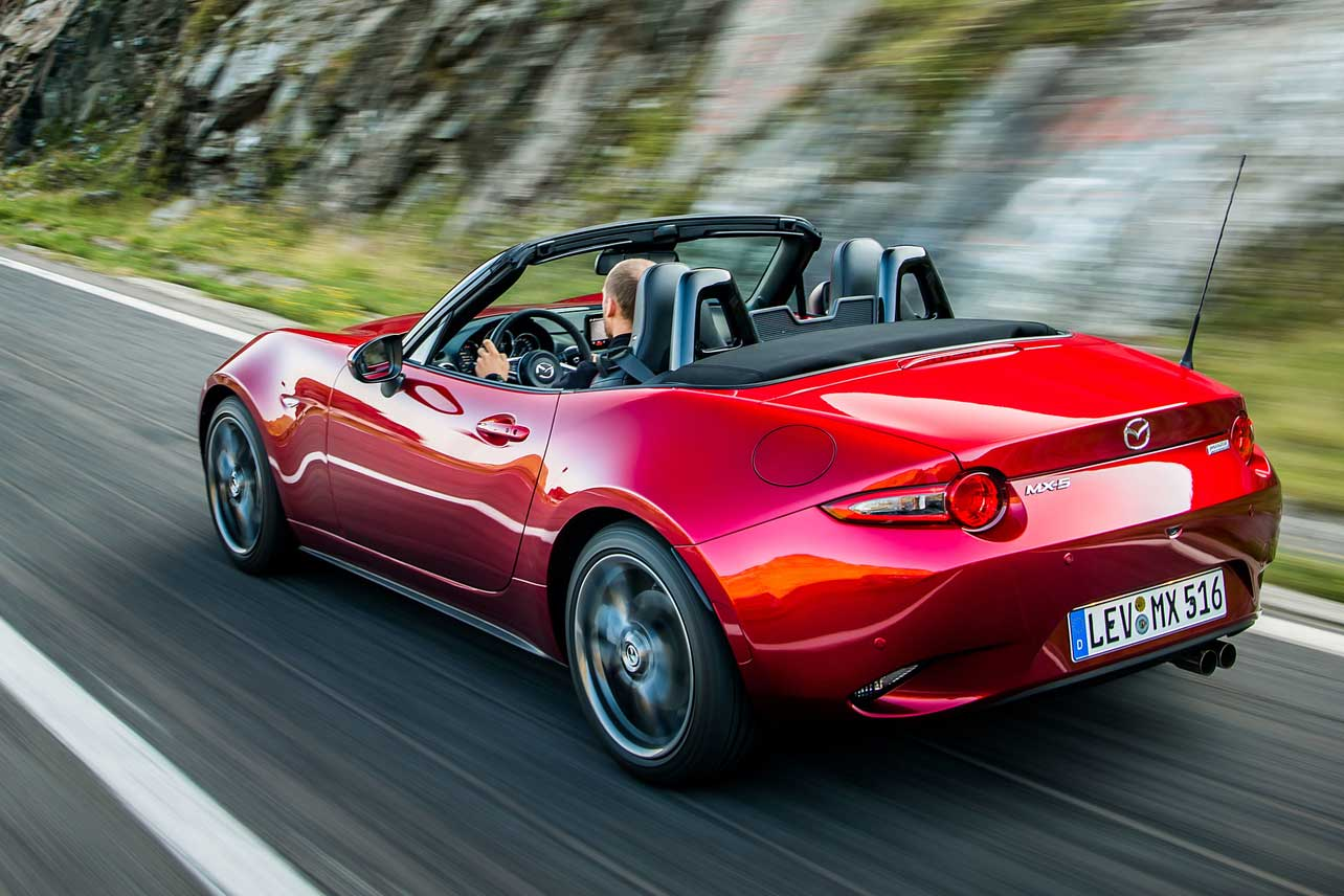 Mazda MX-5 Roadster Fahrspass