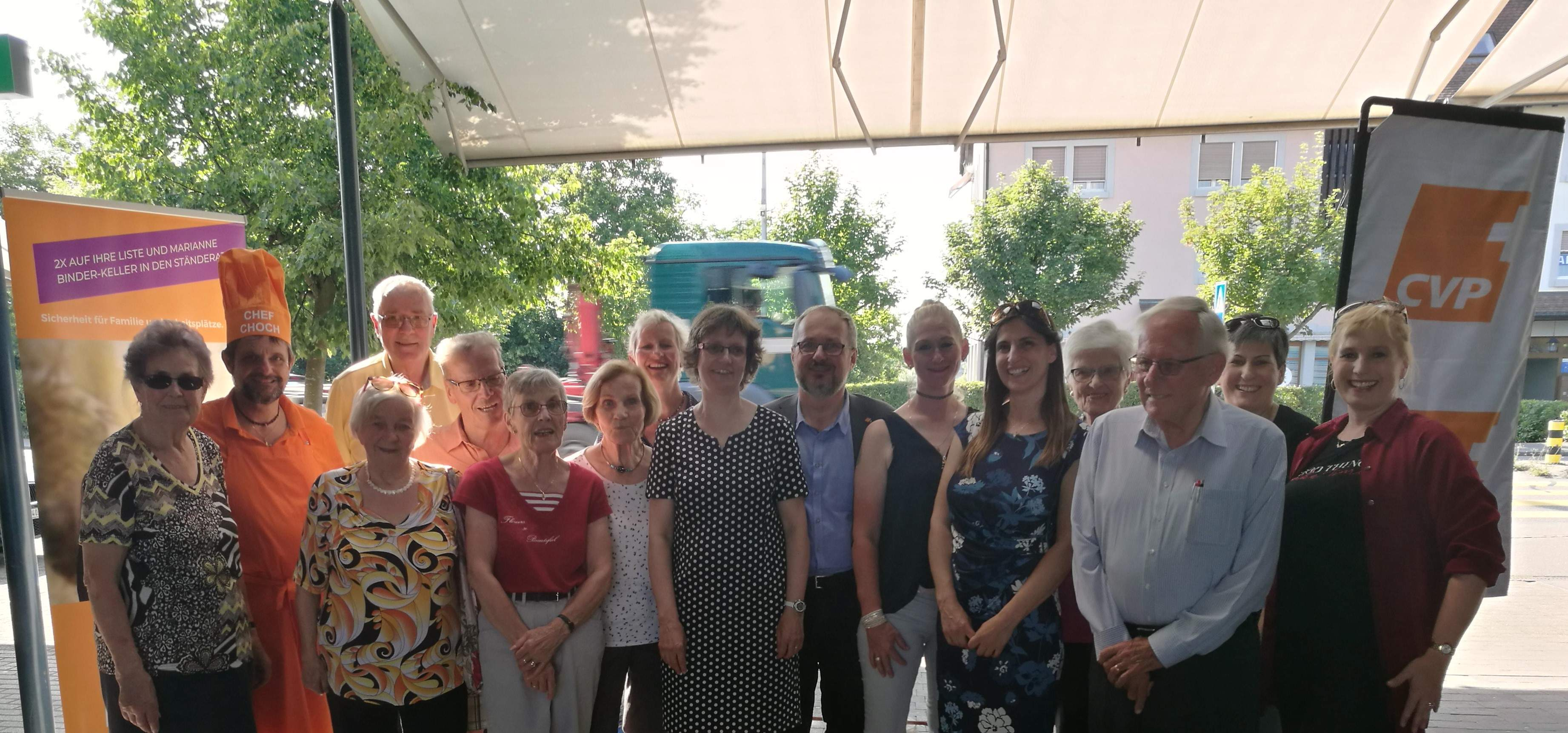 CVP Risotto Anlass am 19. Juni in Stein