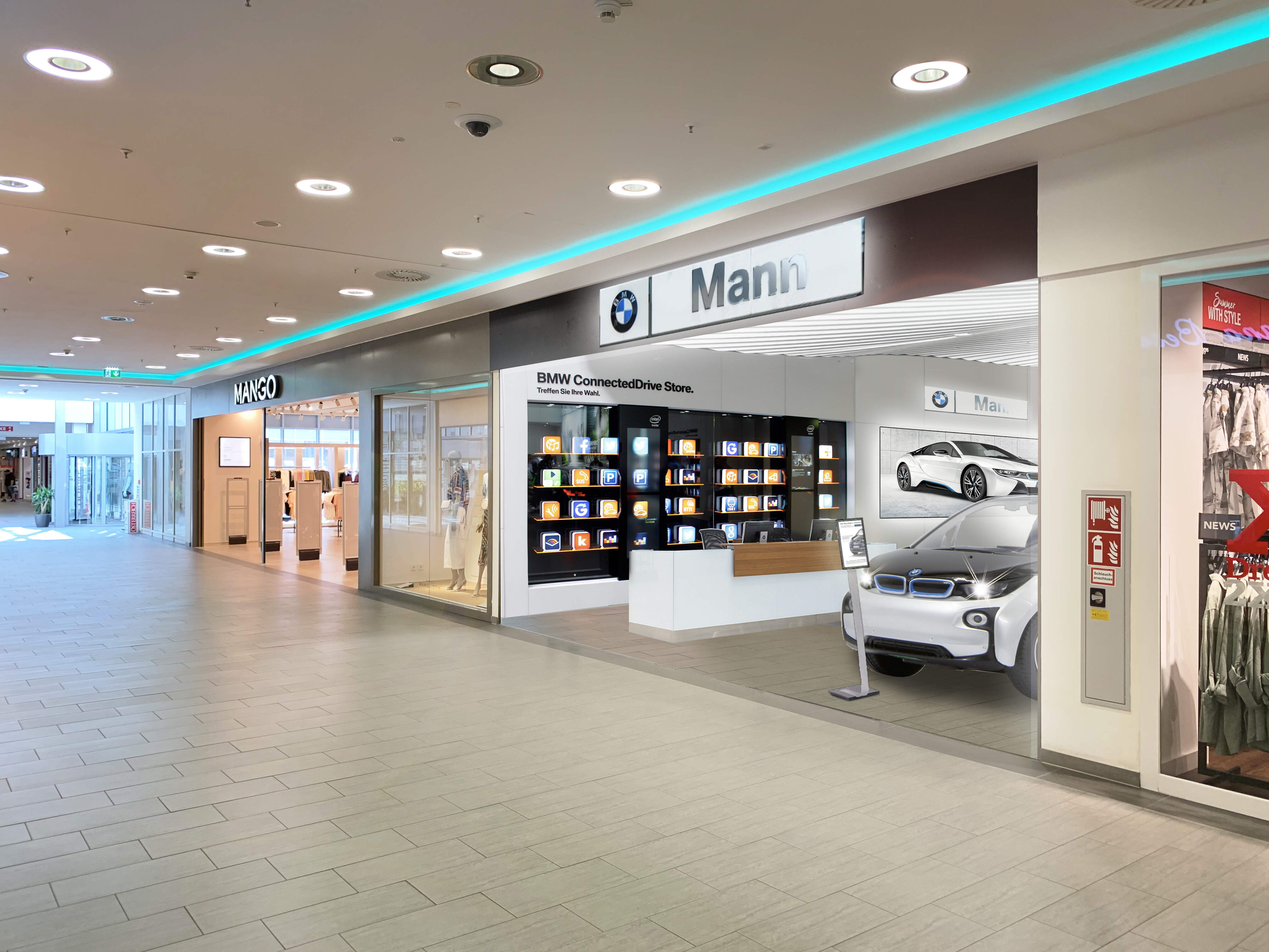 BMW Store Auhof Center, Wien