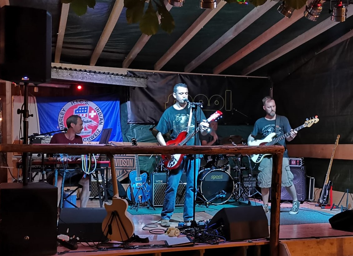 Spool rocking at the Bergparty 2019
