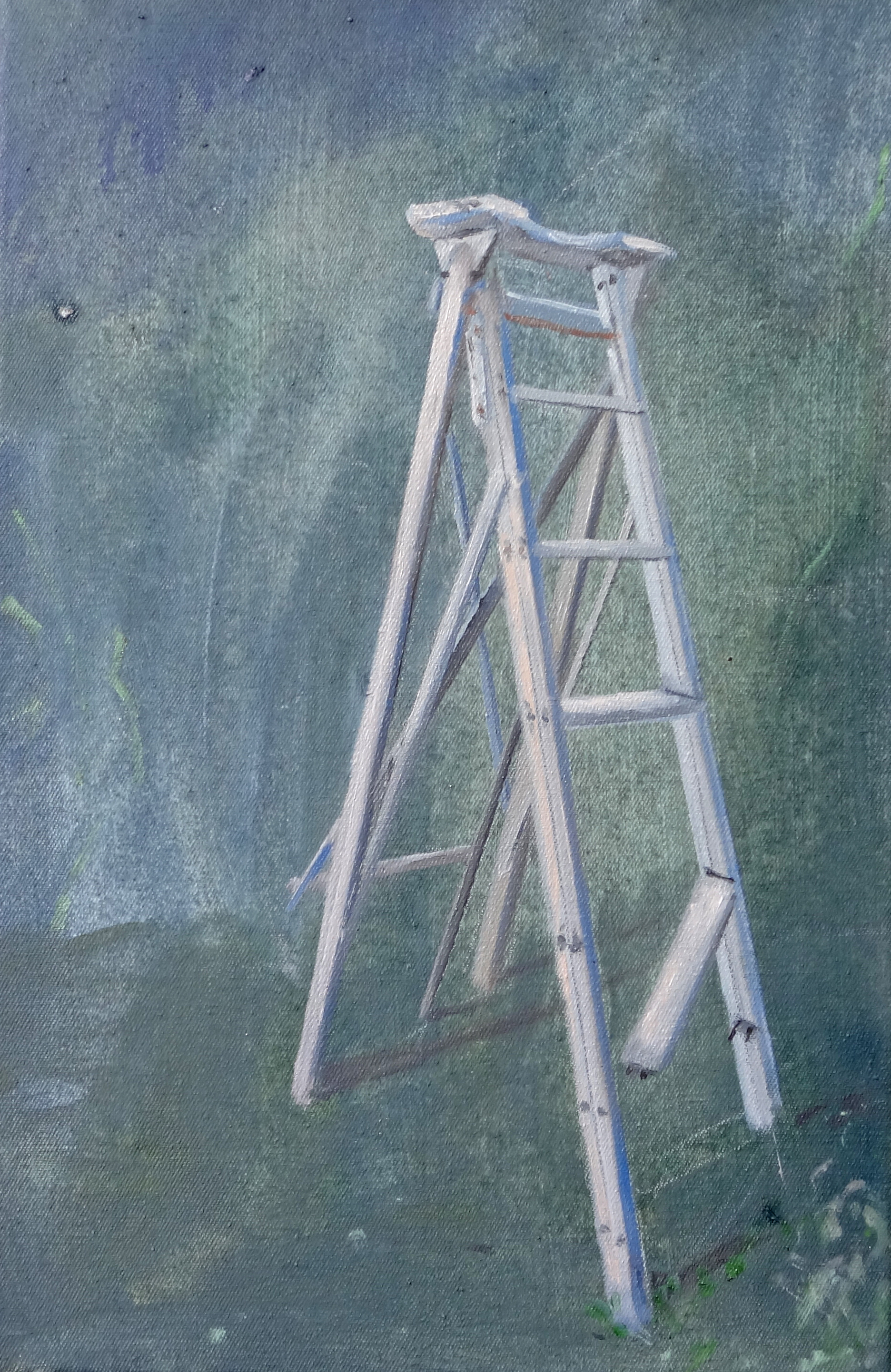 Am Fusse der Leiter 21 x 32 cmjpg