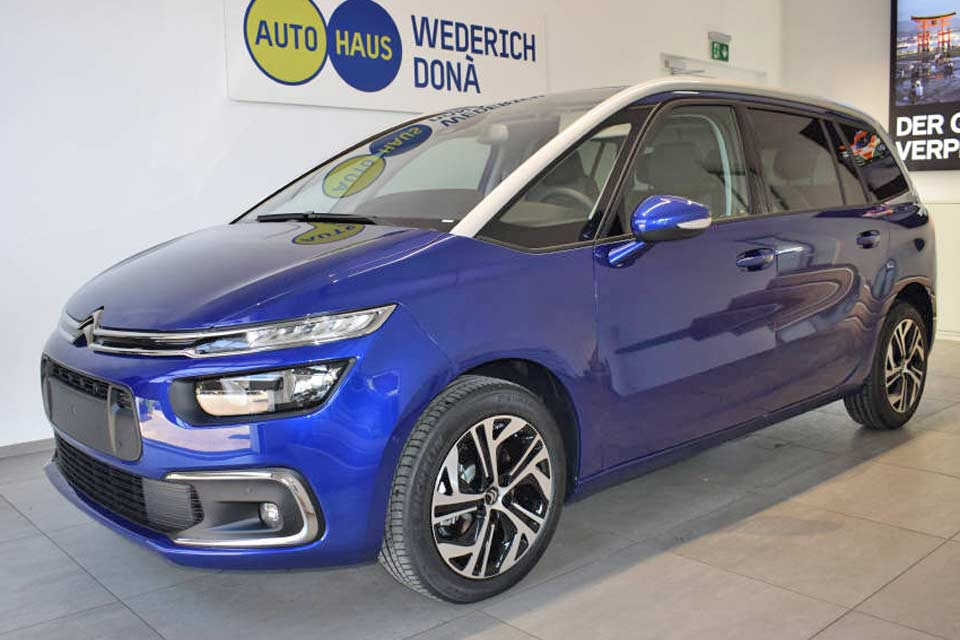Aktionsangebot Citroen C4 Grand Spacetourer