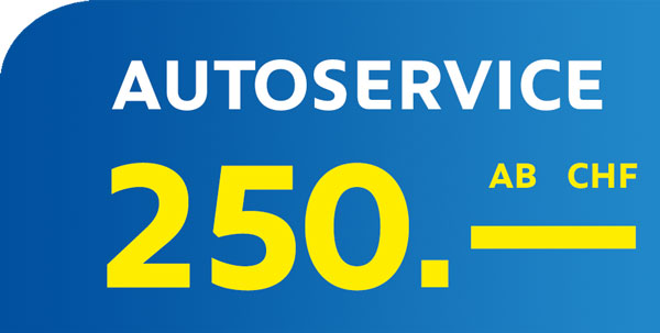 Autoservice in Basel ab CHF 250