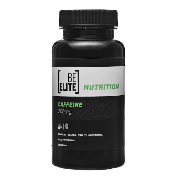 BE ELITE Nutrition Koffein Tabletten 30 Tabletten (200mg)