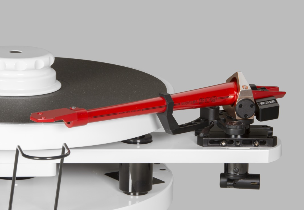 SME Model 10 SWISS EDITION weiss/rot - Streng LIMITIERTE Version -  inkl. Tonarm SME Model 309 rot