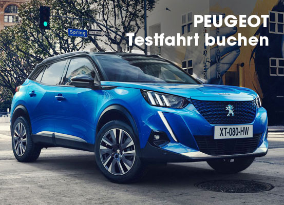 Peugeot Test Days 2021 Neuwagenaktion