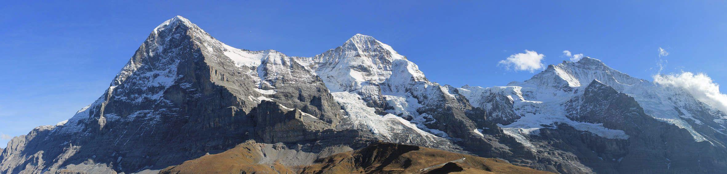 Eiger Mnch Jungfrau  Top of Europejpg