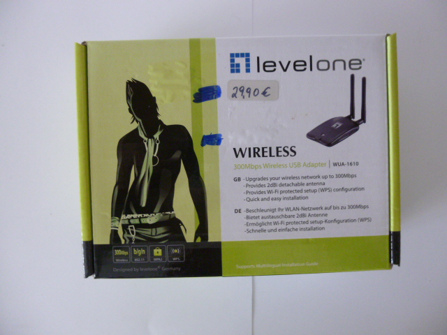 levelone 300Mbps Wireless USB Adapter