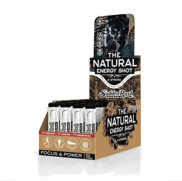 "SuddenRush Guarana ""Natural Energy Shot/X-strong""  1 x 11ml Fläschli"