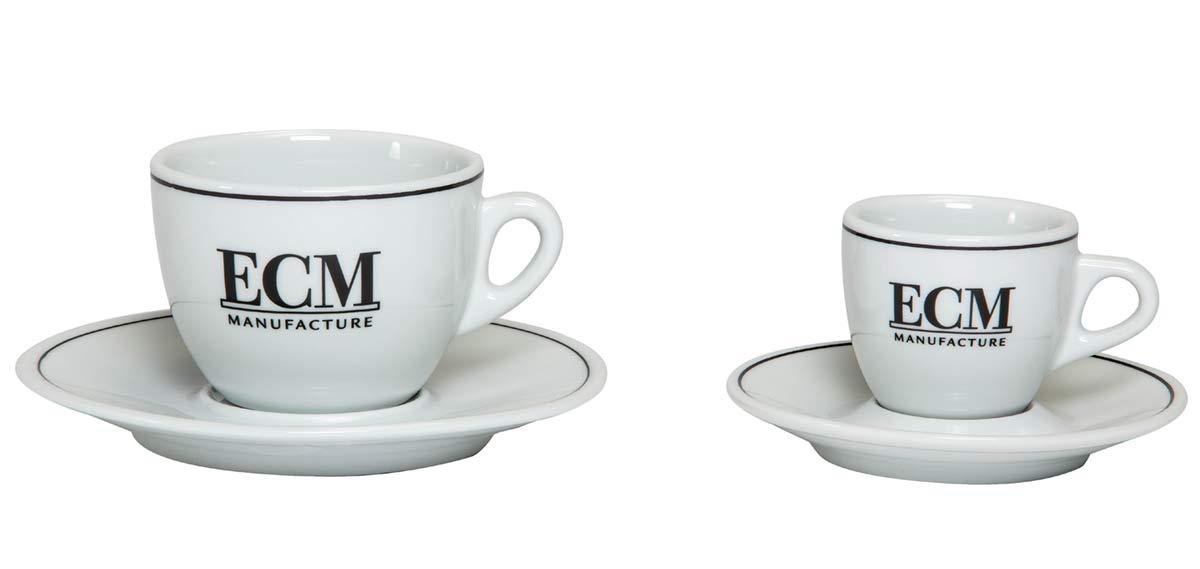 ecm tassen espresso oder cappuccino. Black Bedroom Furniture Sets. Home Design Ideas