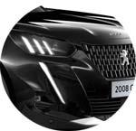 Peugeot 2008 SUV Schwarz Onyx