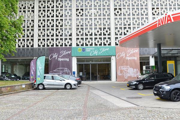 City Store Autogarage Gellert Basel
