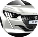 Peugeot 208 Weiss Nacre